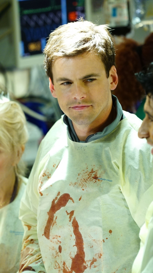 Tommy Dewey as Dr. Mike Leighton