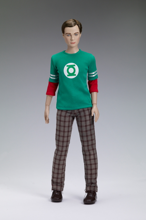 Green Lantern Sheldon Doll