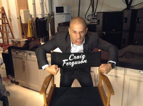 Tony Kanaan  - Behind the Scenes at The Late Late Show