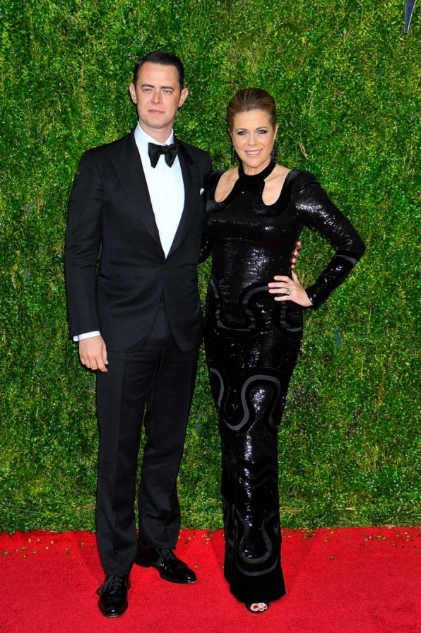 20. Colin Hanks and Rita Wilson