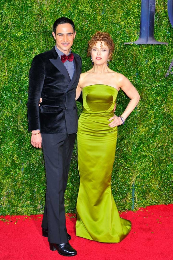 13. Zac Posen and Bernadette Peters
