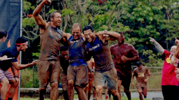Hawaii Five-0: The Team vs. Tough Mudder challenge