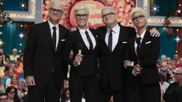 The Price Is Right had a Drew-Tastic Halloween!