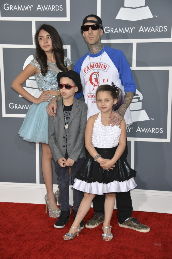 Travis Barker and Family