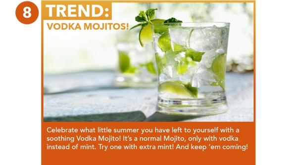 Vodka Mojitos!