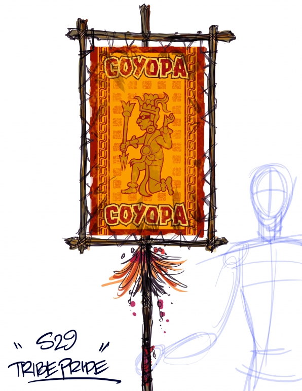Coyopa Tribal Pride blueprint