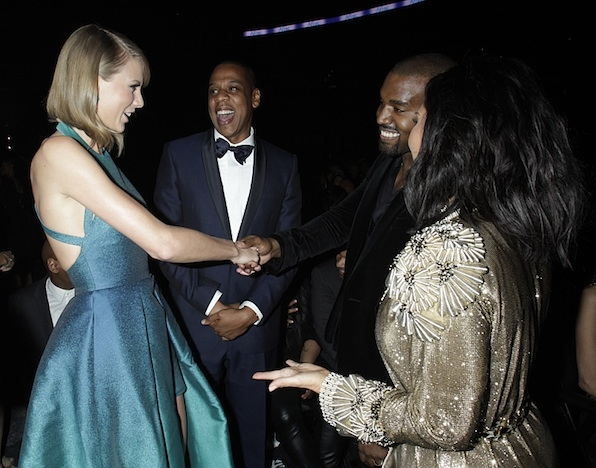 Taylor Swift And Kanye West Shook Hands