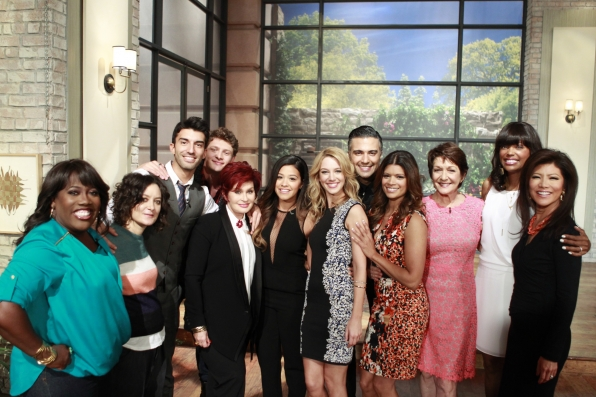 "2. Meeting the cast of ""Jane the Virgin."""