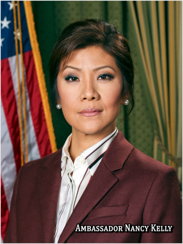 "Julie Chen on ""NCIS: LA"""