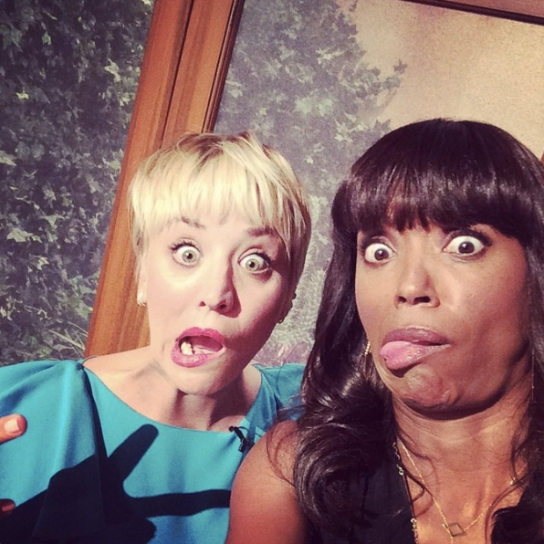 69. Aisha Tyler and Kaley Cuoco-Sweeting - The Talk & The Big Bang Theory