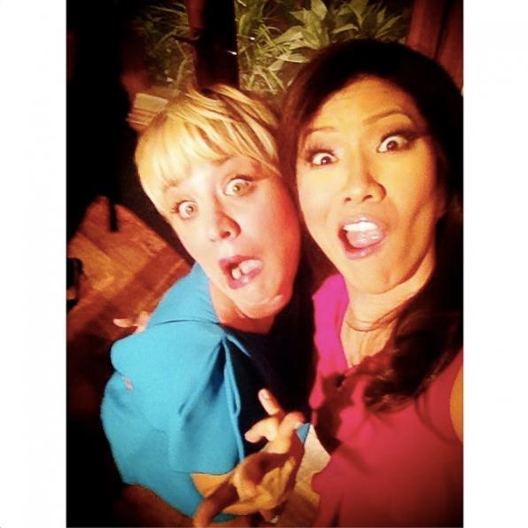 70. Julie Chen and Kaley Cuoco-Sweeting - The Talk & The Big Bang Theory