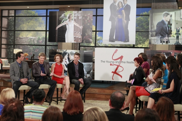 "10. Meeting new castmembers of ""The Young and the Restless."""