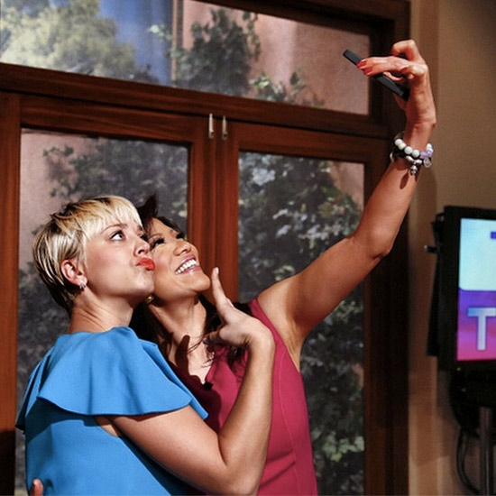 Kaley Cuoco-Sweeting & Julie Chen - The Big Bang Theory & The Talk