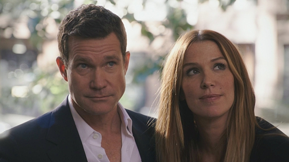 Dylan Walsh. Watch Unforgettable on Sundays at 9/8c before Reckless at 10/9c.