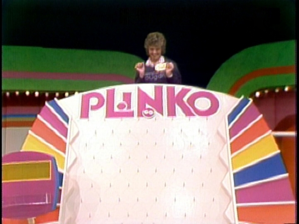 First Plinko Contestant