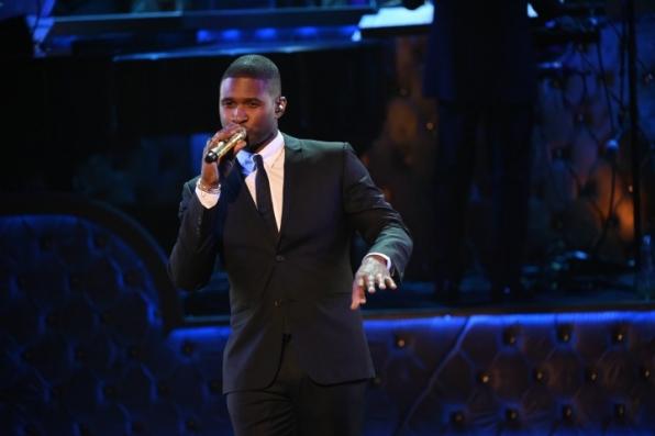 "10. Usher says, ""C'est La Vie."""
