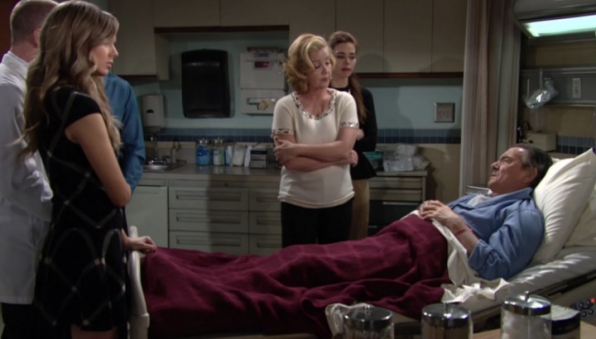 Victor lands in the hospital.