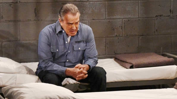 Victor landed behind bars on The Young and the Restless.