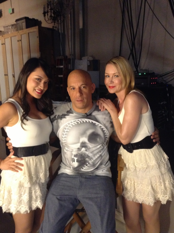 Vin Diesel and the Craigettes