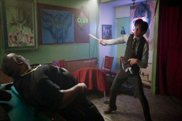4. Jon Foo is no newbie to martial arts.
