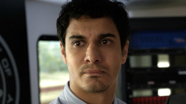 It's Elyes Gabel, who plays Walter O'Brien on Scorpion!