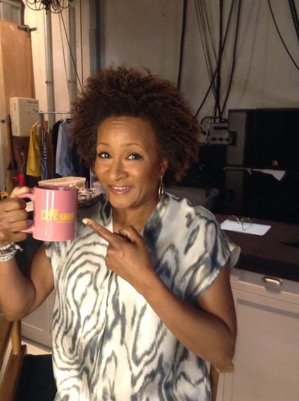 Wanda Sykes - Behind the Scenes at The Late Late Show