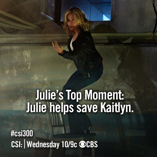 Julie Finaly's Top Moment