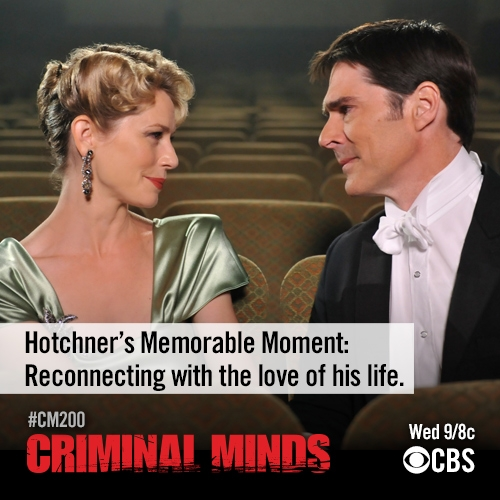 Hotchner's Memorable Moment