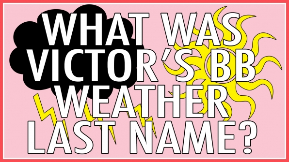 What was Victor's BB Weather last name?