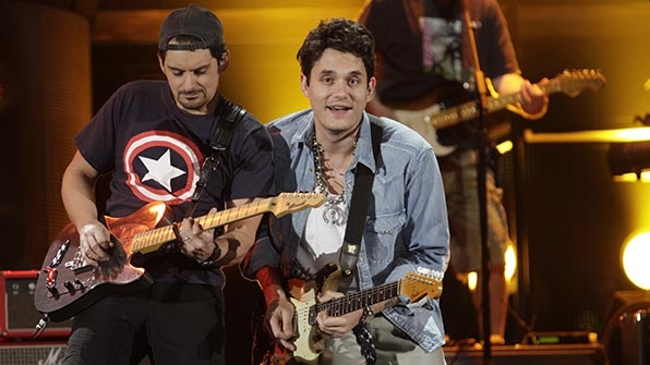 When John Mayer crashed the party.
