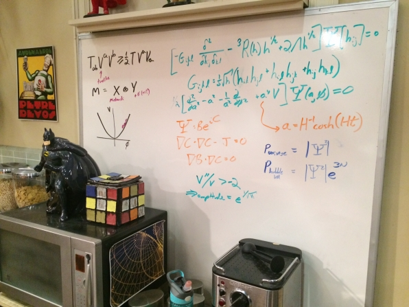 White Boards - The Big Bang Theory