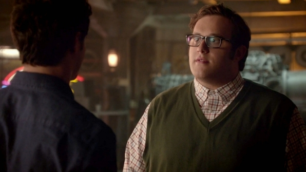 He told Walter about his feelings for Megan, and confronted Walter about his reaction.