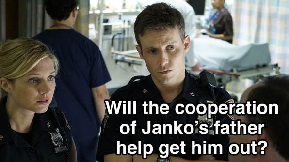 Will the cooperation of Janko's father get him out?