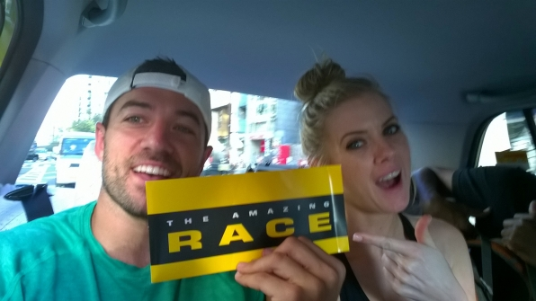 Representing The Amazing Race