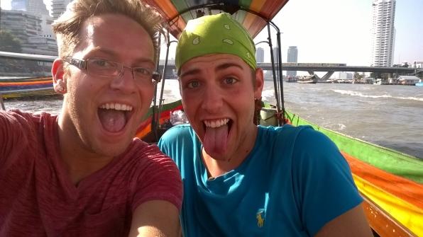 On a Bangkok boat