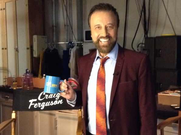Yakov Smirnoff - Behind the Scenes at The Late Late Show