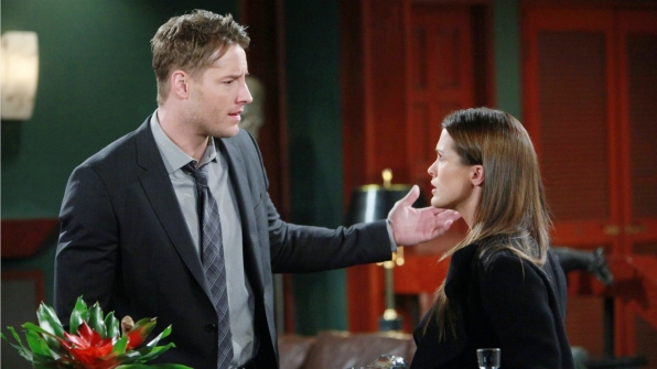 Chelsea confronts Adam about his secrecy.