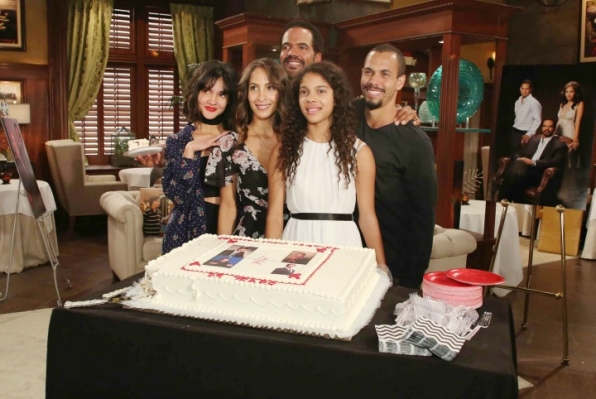 Kristoff St. John celebrated 25 years on Y&R.
