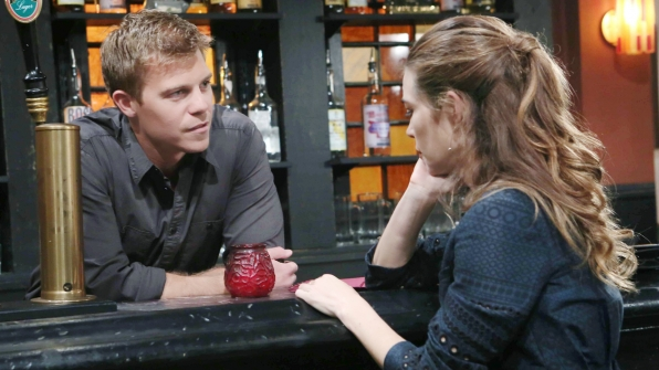 You play a bar owner and bartender on Y&R. Do you have a specialty cocktail you make?