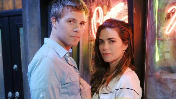 How is it working so closely with Amelia Heinle? Is there anyone else you'd like to work with on the show?