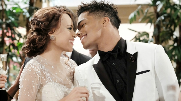 Nicole Avant and Zende Forrester exchanged vows during a romantic Valentine's Day wedding in 2017