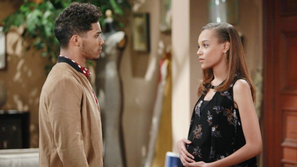 Nicole and Zende share a private moment together where Nicole tells him her hope for their future.