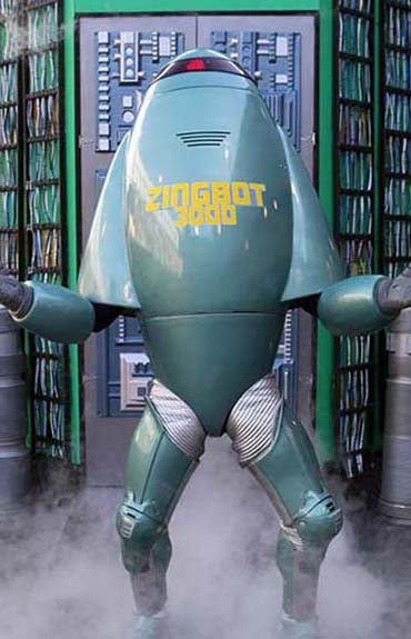 The Zingbot character you know and love from Big Brother.