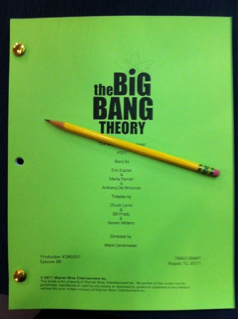 Season Five Script