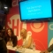 Kat Dennings and Beth Behrs Sign Autographs at the CBS Comic-Con Booth