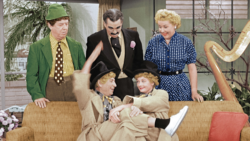 Watch Lucille Ball And Harpo Marx Like You 39 Ve Never Seen