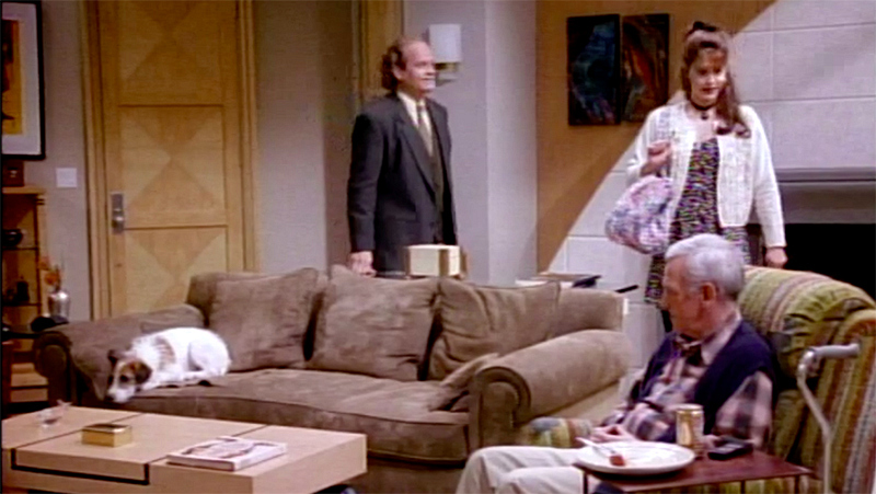 We Dare You To Watch The Frasier Pilot Without Binging All - Frasier coffee table