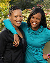 LaKisha and Jennifer