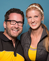 Burnie Burns & Ashley Jenkins