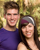 Joey Graceffa and Meghan Camarena